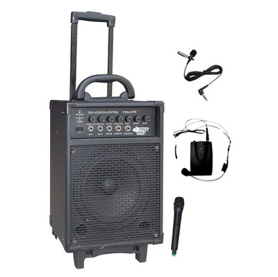 PA System With Wireless Microphone
