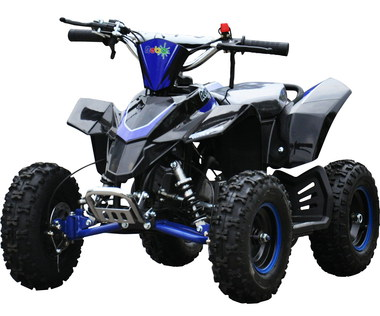 Quad Bike With Obvious Foot Rest