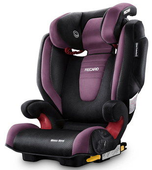 Secure 2,3 Booster Seat For Toddlers With Curved Front