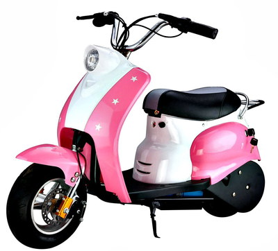 Kids Electric Motorbike In Pink