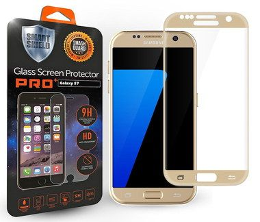 9H Galaxy S7 Phone Screen Protector With Black Package