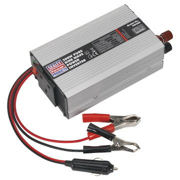 Power Inverter With Red Wiring