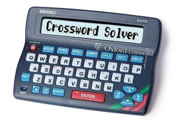 Crossword Solver In Grey And Blue