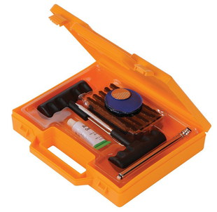 Flat Tyre Repair Kit In Orange Box