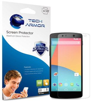 Bubble-Free Mobile Phone Screen Protectors In Blue Box