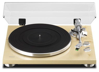 Belt Driven Record Player Turntable With Steel Arm