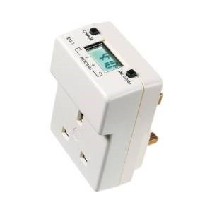 Digital Plug Socket Timer With LCD On Top