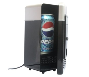 USB Powered Fridge And Drinks Warmer With Pepsi Inside