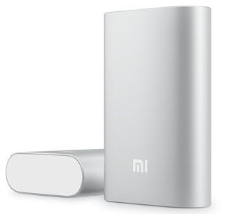 Power Bank In Soft Chrome Style