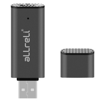 Voice Triggered 8GB USB Voice Recorder In Grey Finish