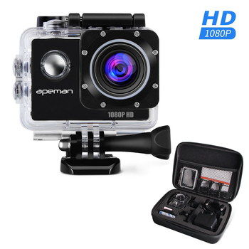LCD Cheap Action Camera With Black Case