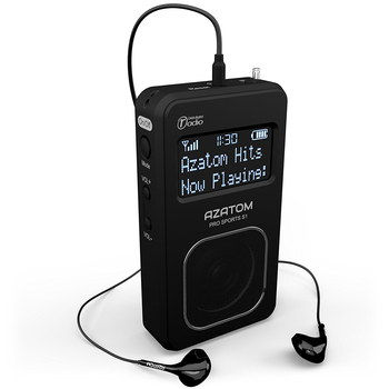 Auto Pro Pocket DAB Radio With Earbuds