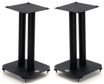 Pair Of Isolating Stands For Speakers With 2 Pillars