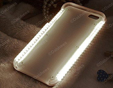 online retailer da816 b9086 Light Up iPhone 5S Cases For Bright LED Smartphone Photos