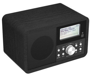 Mp3 Link DAB Internet Radio With Dark Exterior