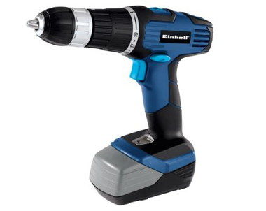 Powerful Hand Held Hammer Drill With Black Grip