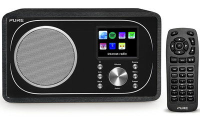 Internet Radio With Bluetooth And Black Remote