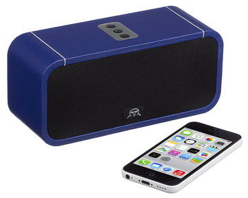 Stylish Bluetooth WiFi Speaker In Bright Blue