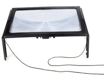 LED Magnifier Glass With Cord