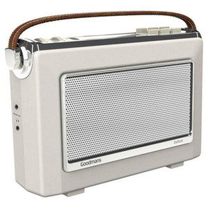 LCD Console DAB Radio AUX Input With Brown Strap