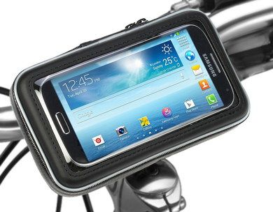 Universal Mobile Phone Bike Mount With Black Border