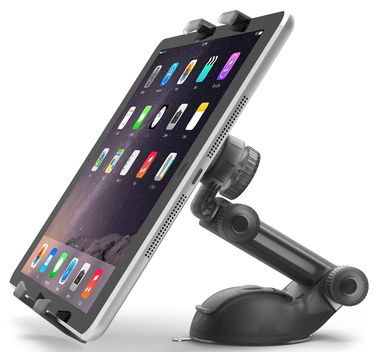Pivot Elbow Car Tablet Windshield Mount With Suction Cup