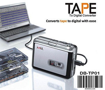Hand Held Cassette Tape To Mp3 Converter Plugged In PC