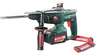 SDS Battery Operated Hammer Drill With Red Strap