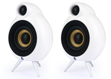 Small Cheap Speakers With Good Bass In White