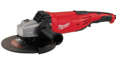 230 mm Small Angle Grinder In Dark Red