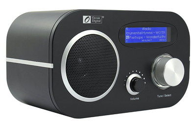 Crystal Clear Internet Radio Alarm Clock With Big Dial