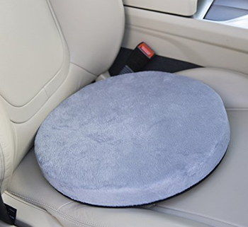 Anti Slip Swivel Car Seat Cushion In Blue