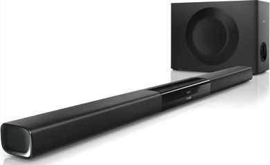 ApTX Surround Sound Soundbar With Smooth Surface