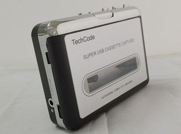 Portable Convert Cassette To Digital Player Side View