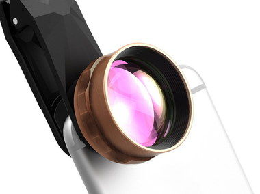 HD Camera Lens For Mobile Telephoto With Bronze Rim
