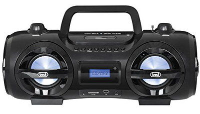 CD Bluetooth Ghetto Blaster With Square Handle