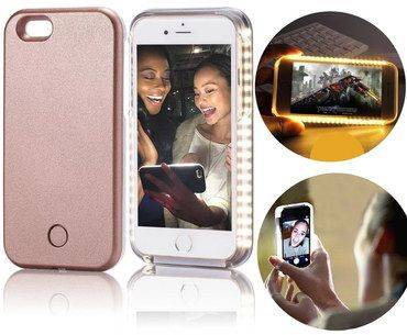 LED iPhone Case With Light 5S On Mobile