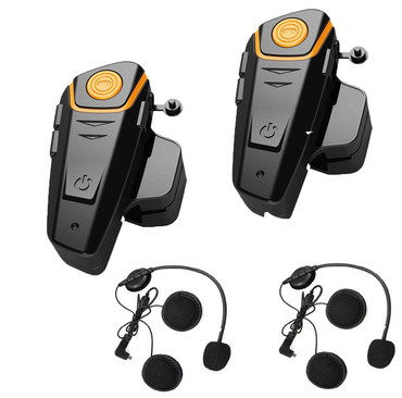 Intercom Bluetooth Helmet Headset With Black Wiring