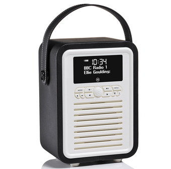 Budget DAB Digital Radio With Leather Strap