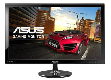 Multi-Media HDMI Monitor With Speakers With Black Border