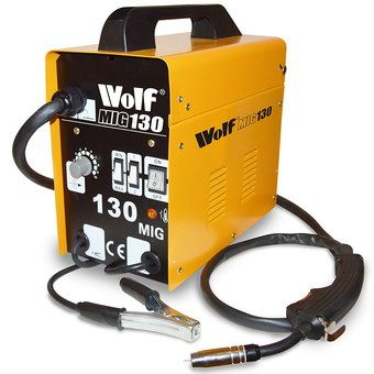 Turbo Power MIG Welder With Black Torch